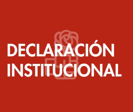 DECLARACIÓN INSTITUCIONAL-61